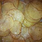Ofen-Kartoffelchips