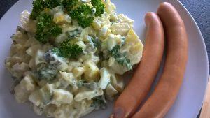 Wetsfälischer Kartoffelsalat mit Wiener Würstchen