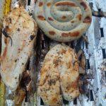 Hühnerbrustfilet auf dem Grill