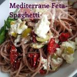 Mediterrane Feta-Spaghetti