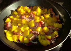 Bratkartoffeln mit Wammerl