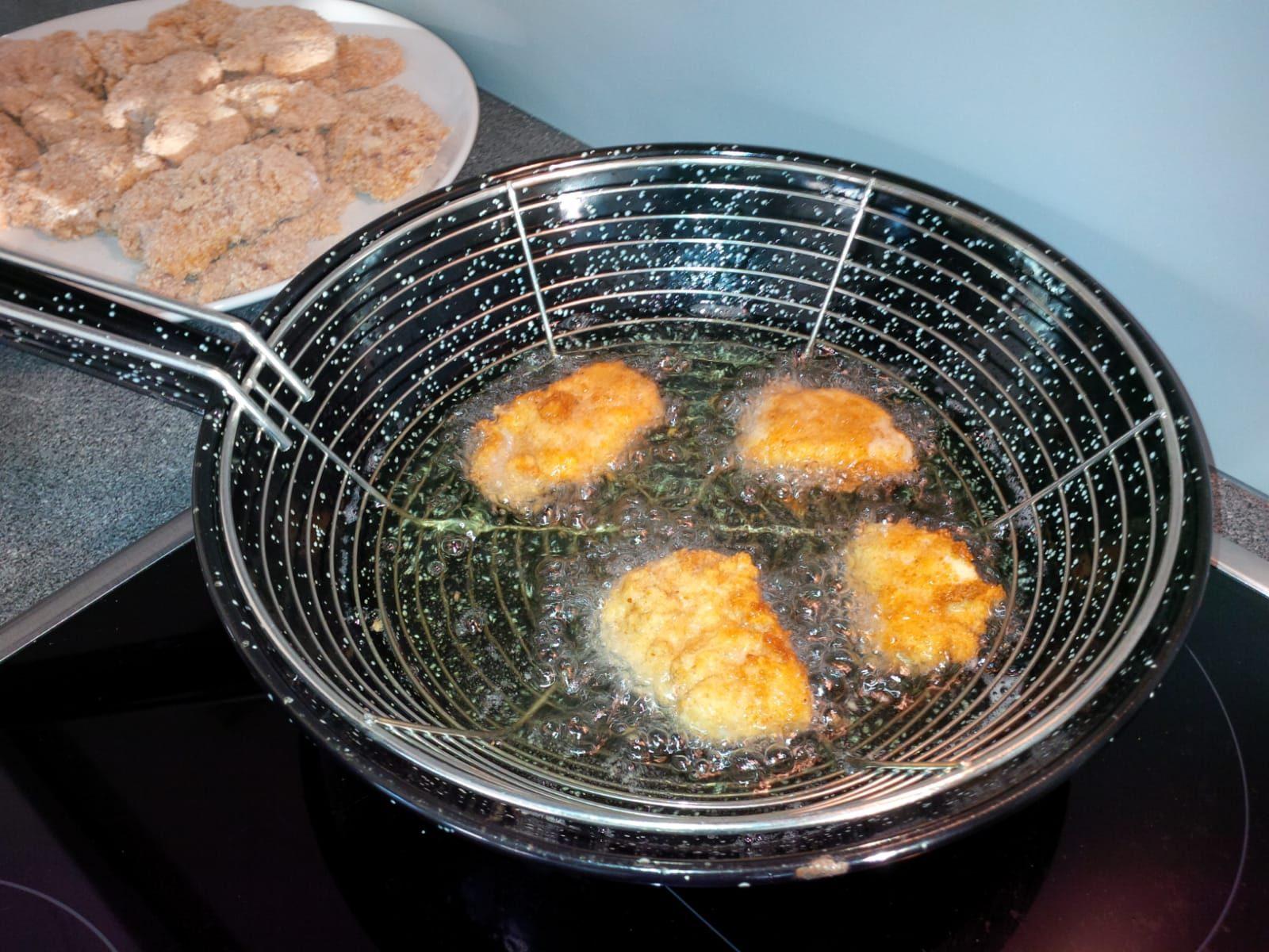 Chicken Nuggets frittieren