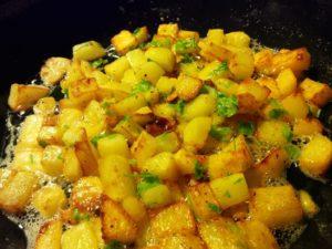 Pikante Kartoffeln