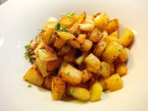 Pikante Kartoffeln als Tapas
