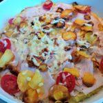 Proteinpizza-Omelette